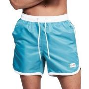 Frank Dandy Badbyxor Long Bermuda Swimshorts Grön/Vit polyester Large ...