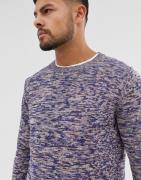 Jack & Jones – Originals – Marinblå stickad tröja